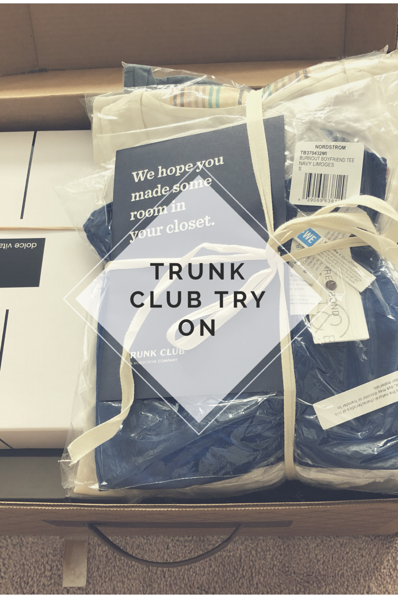 Trunk Club | spring fashion | mom style | clothing subscription | summer fashion | Trunk Club Try On Nordstrom
